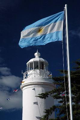 Faro Balneario El Cóndor - Provincia de Río Negro - Patagonia Argentina