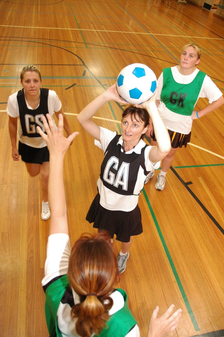 Netball at Ingle Farm Recreation Centre in the City of Salisbury, South Australia. @cityofsalisbury #Sport