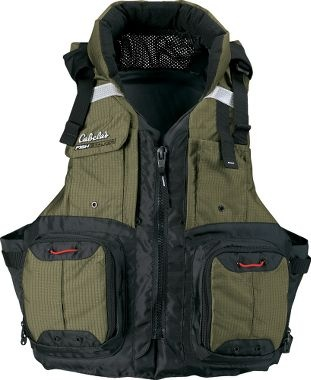 Vests products and fish on pinterest for Cabelas fishing vest