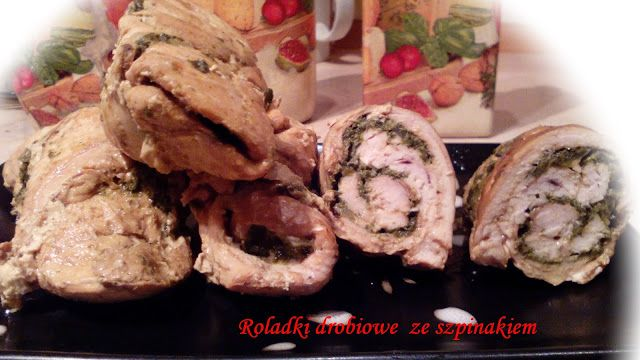 W kuchennym oknie Ewy: Roladki drobiowe ze szpinakiem