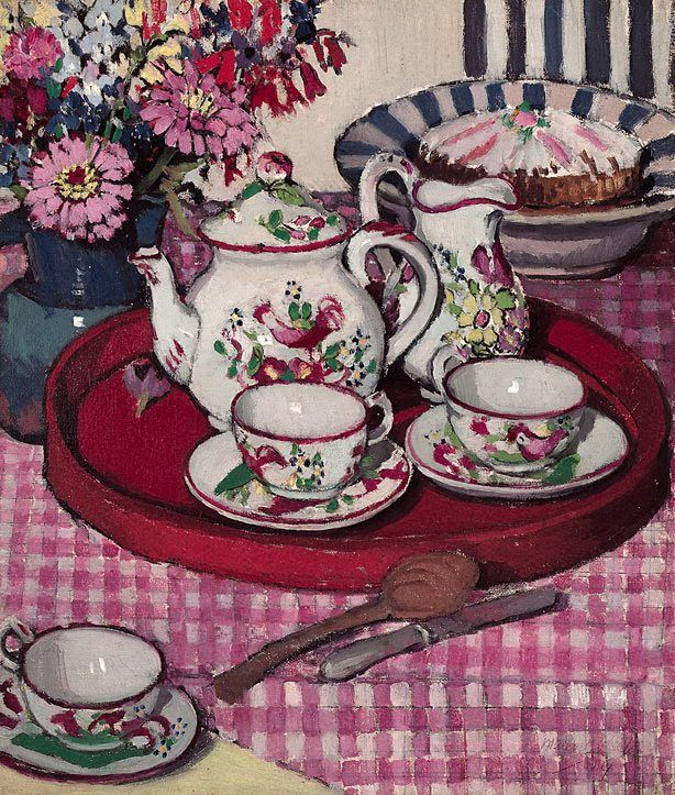 Margaret Preston : Tea Party 1924