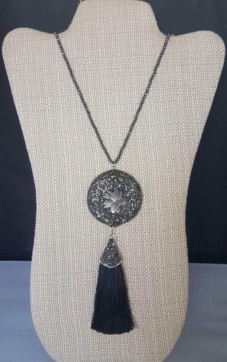 #cloverjewelry #desingerjewelry #boutique #tasselearrings #earrings #necklace Katherine Kelly Jewelry #pendant #pendantenecklace