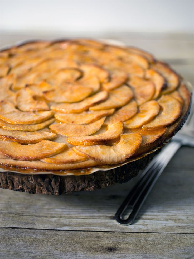 French Apple Tart from simplypescetarian.com