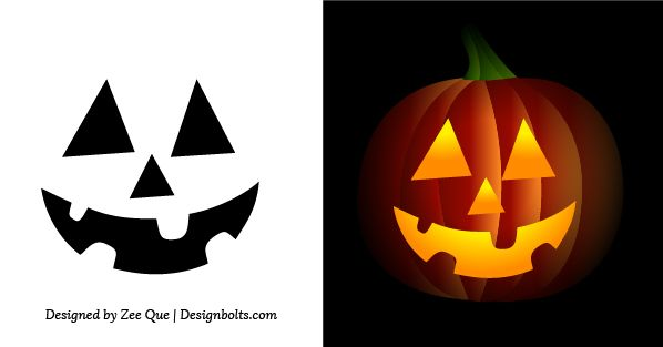 Easy-Pumpkin-Carving-Stencils-face