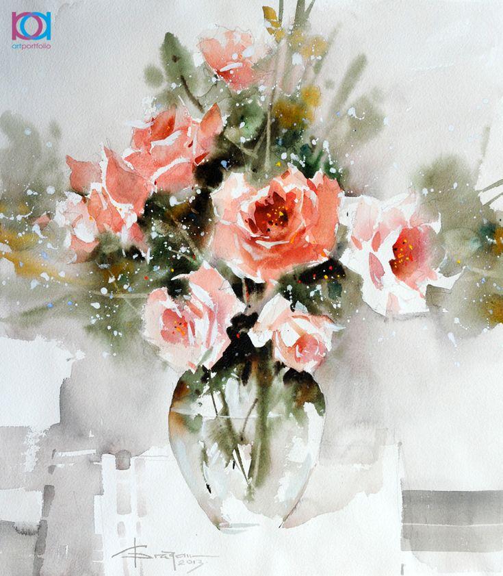 Oltre 25 fantastiche idee su dipingere vasi di fiori su for Vasi di fiori dipinti