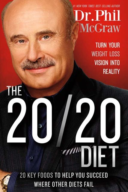 The 20/20 Diet is available now at TheBookNook.com