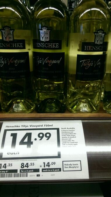 Tilly's from Henschke is a white blend. Its pretty good for cooling you down when the weather is warm!