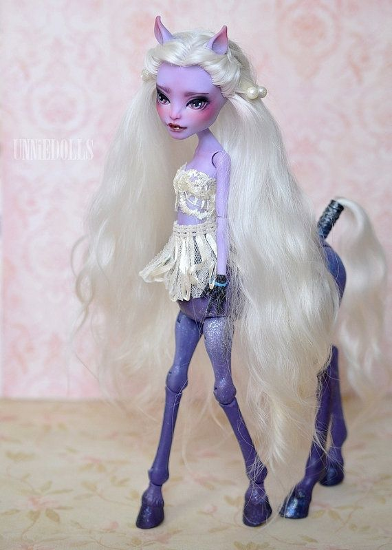 Avea Trotter Ooak Custom Monster High Doll Freaky