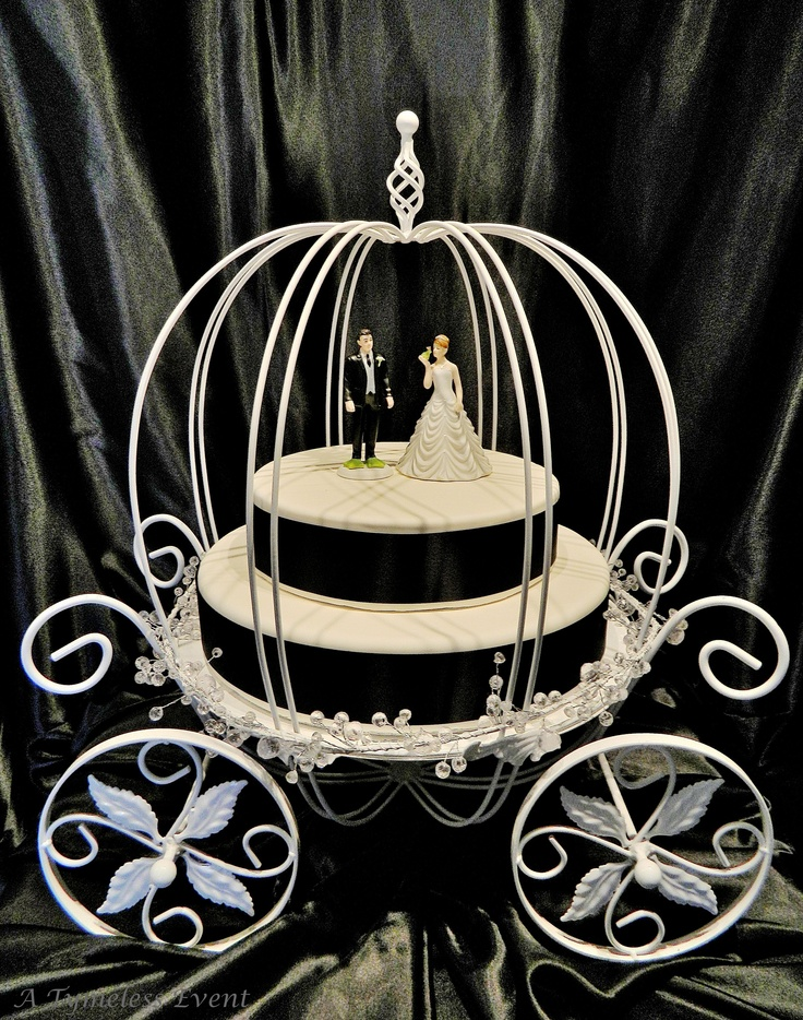 16 Best Images About Carriage Cake Stands On Pinterest