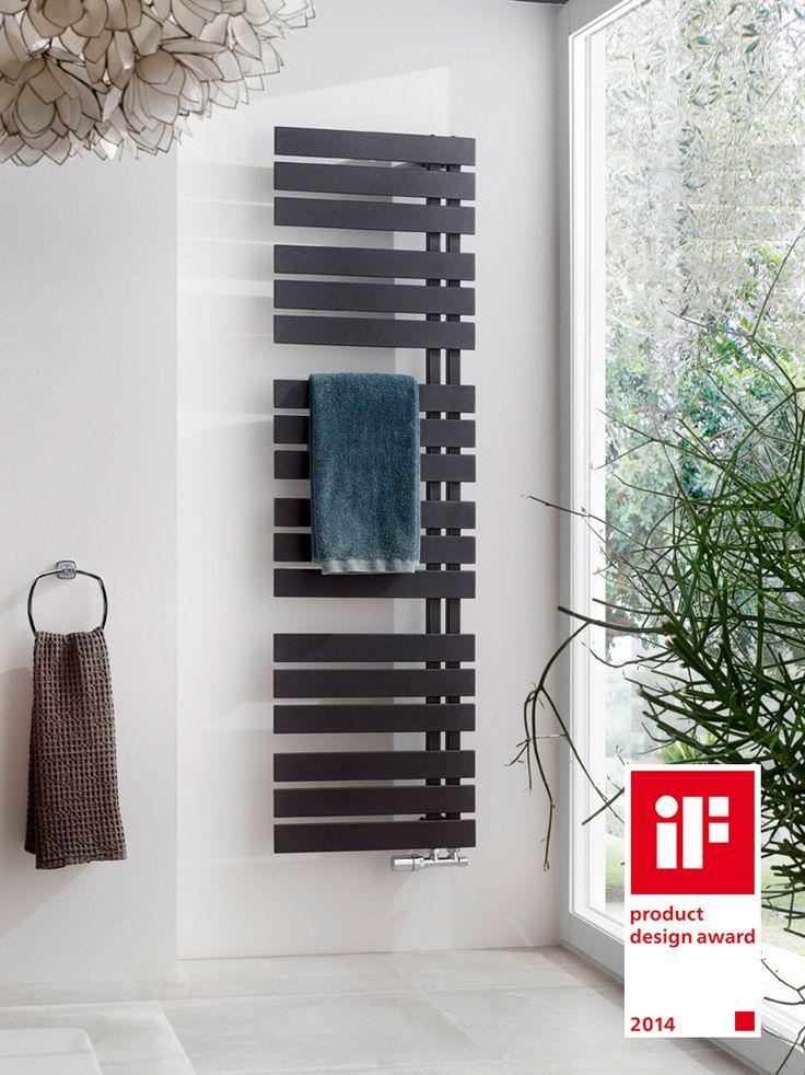 Functioneel veelzijdig en designtechnisch top: designradiator Yenga van HSK.
