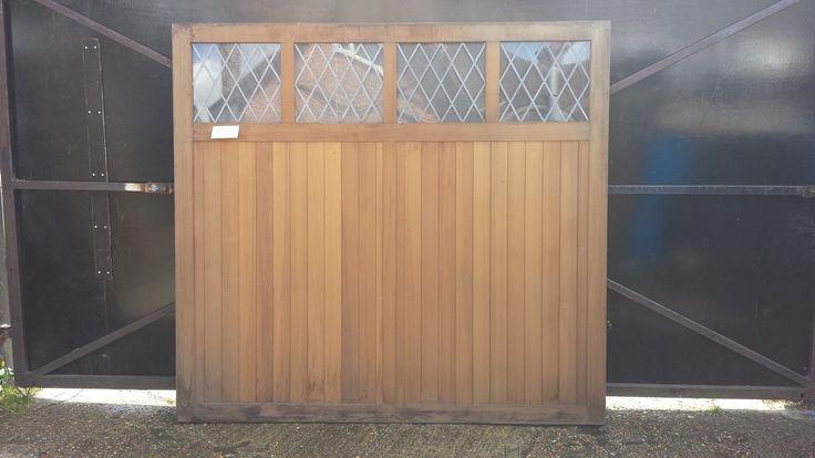 7 0  x 6 6  Cardale GARAGE LITE Timber Retractable With Windows Garage Doors