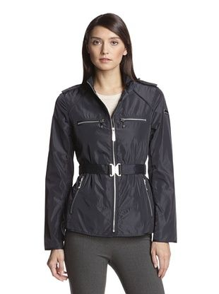70% OFF Vince Camuto Women's Belted Parka (Navy)