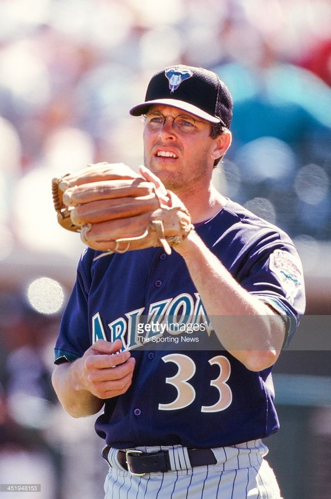 Jay Bell of the Arizona Diamondbacks during the Spring Training game against the Chicago White Sox on March 5, 2000.