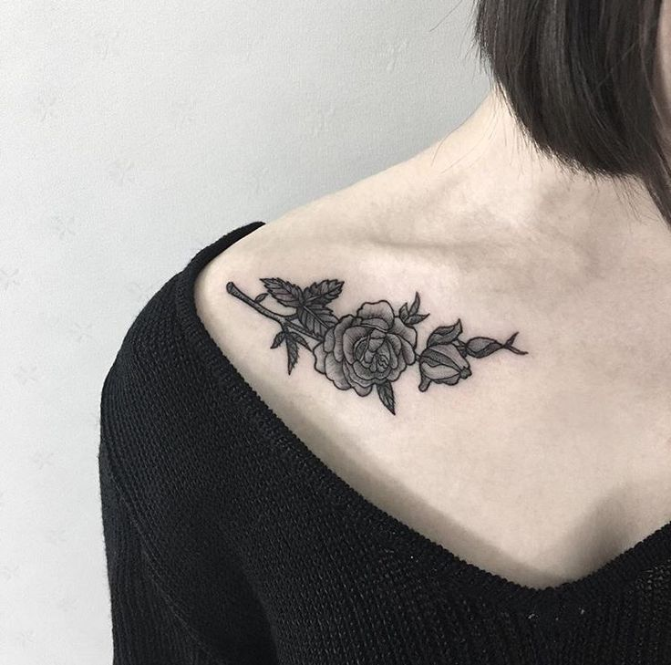 Tattoo Designs For Women On Collar Bone