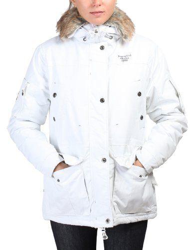GEOGRAPHICAL NORWAY Jacket Alaska L white Wash instructions : 30°C.