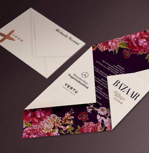 fashion week wedding invitation design inspiration