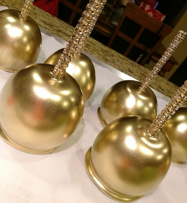 GOLD CANDY APPLES When only the best will do! Creamy Sweet