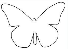 Vlinder sjabloon