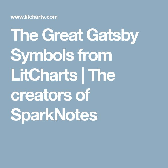 great gatsby sparknotes A comprehensive study guide for f scott fitzgerald's novel the great gatsby includes chapter summaries, explanations, character analysis, quotes, themes and more.