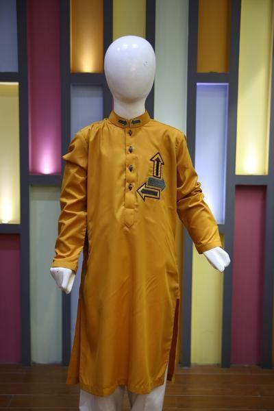 16LM1401 RS 1550 #desi #pakistani #fabstore #kurta #kidswear