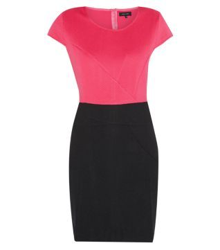 Pink and Black Dress New Look