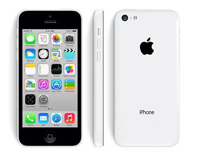 IPHONE 5C 16GB WHITE FACTORY UNLOCKED! APPLE 5 C 16 GB GSM PHONE NEW! | eBay