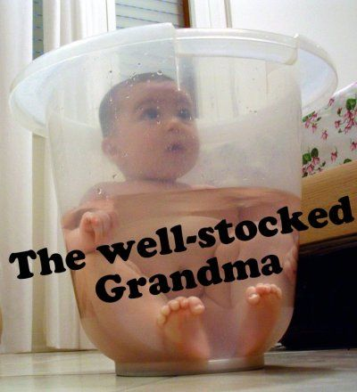 The basics every grandma needs. Good list for grandmas-to-be to use for stocking up.