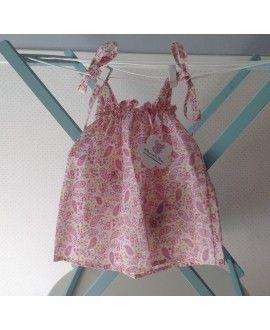 camisa tirantes ameba rosa