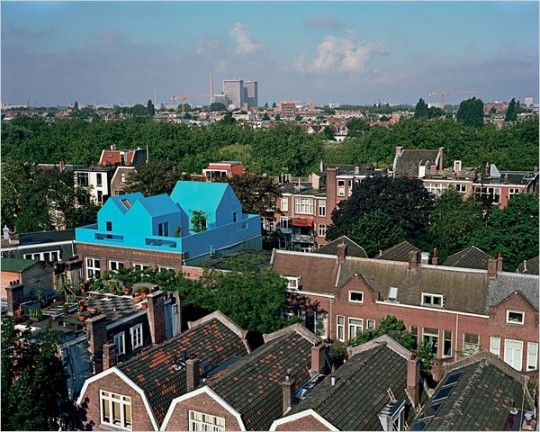 You really do get some awesome looking houses in Rotterdam!