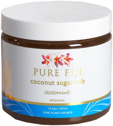 Body Scrubs and Exfoliants: Pure Fiji Coconut Sugar Rub Coconut 15.5 Oz -> BUY IT NOW ONLY: $30.99 on eBay!