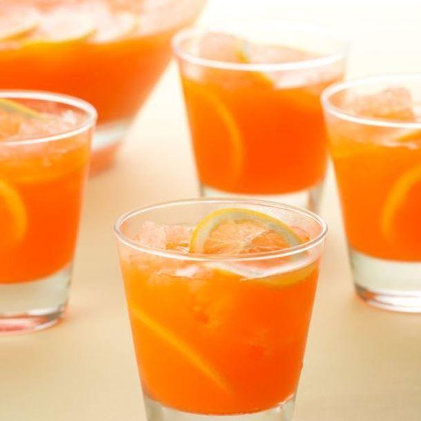 Punch sans alcool au citron