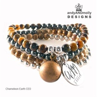 Andy & Molly - Chameleon Earth $78