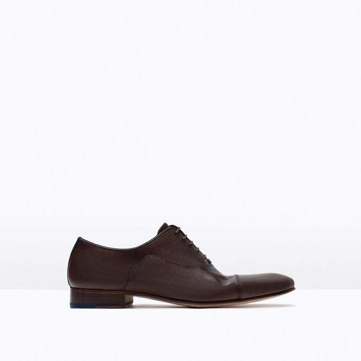 ZARA - MAN - LEATHER OXFORD SHOE