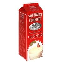 Southern Comfort Vanilla Spice Eggnog is the best eggnog ever. You can add Southern Comfort to it but I like it without.