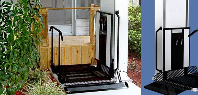 Wheelchair Vertical Platform Lifts Home Elevators Ada