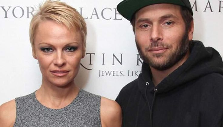 Model and actress Pamela Anderson files for divorce from the same husband Rick Salomon for the third time since 2007.