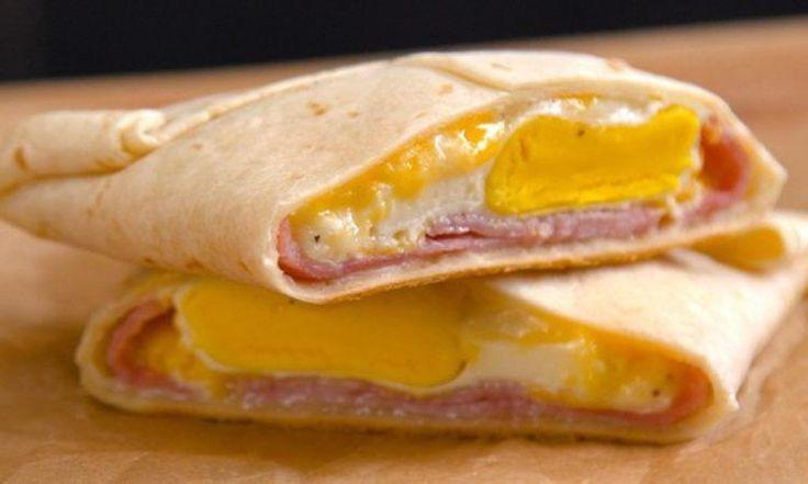 Cuisinez des pochettes-déjeuners au Jambon-fromage pour le petit déjeuner! Et sauvez du temps!