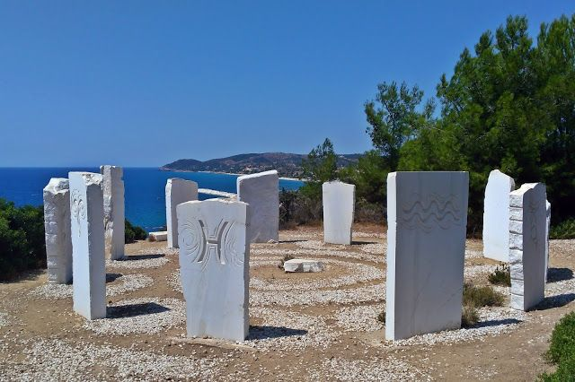 Stone horoscope in Thassos