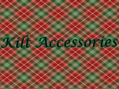 Kilt Accessories are an essential part of the Highland Dress outfit and traditionally vary according to the time of day and whether the occasion is formal or informal. You can browse our complete collection of sporrans, Sgian Dubhs, kilt pins, shoes, ties and kilt socks or hoes here.