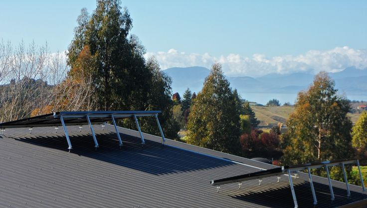 Nelson's largest residential photovoltaic array at The Gates Accommodation, Mapua, Nelson.