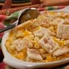 Crunchy Macaroni and Cheese from Mr. Food. With the addition of the crackers on top, it becomes a crunchy, creamy delight!