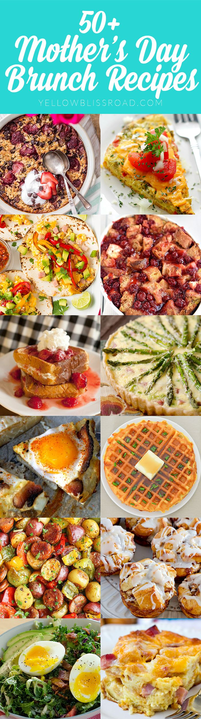 50 Delicious Mother's Day Brunch Recipes