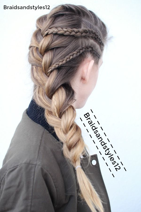 352 best braidsandstyles12 images on pinterest hair tutorials french braid braided hairstyles by braidsandstyles12 braids school braids youtube channel https ccuart Choice Image
