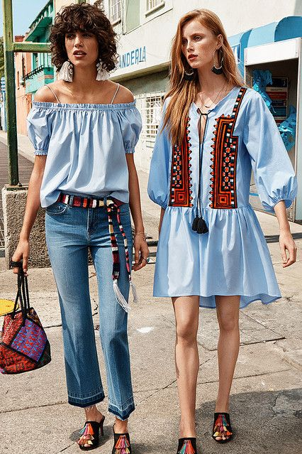 刺繍やフリンジが入ったボヘミアンスタイルが人気♡H&Mのコーデ♪お買い物の参考にしたいスタイル・ファッションまとめ♪