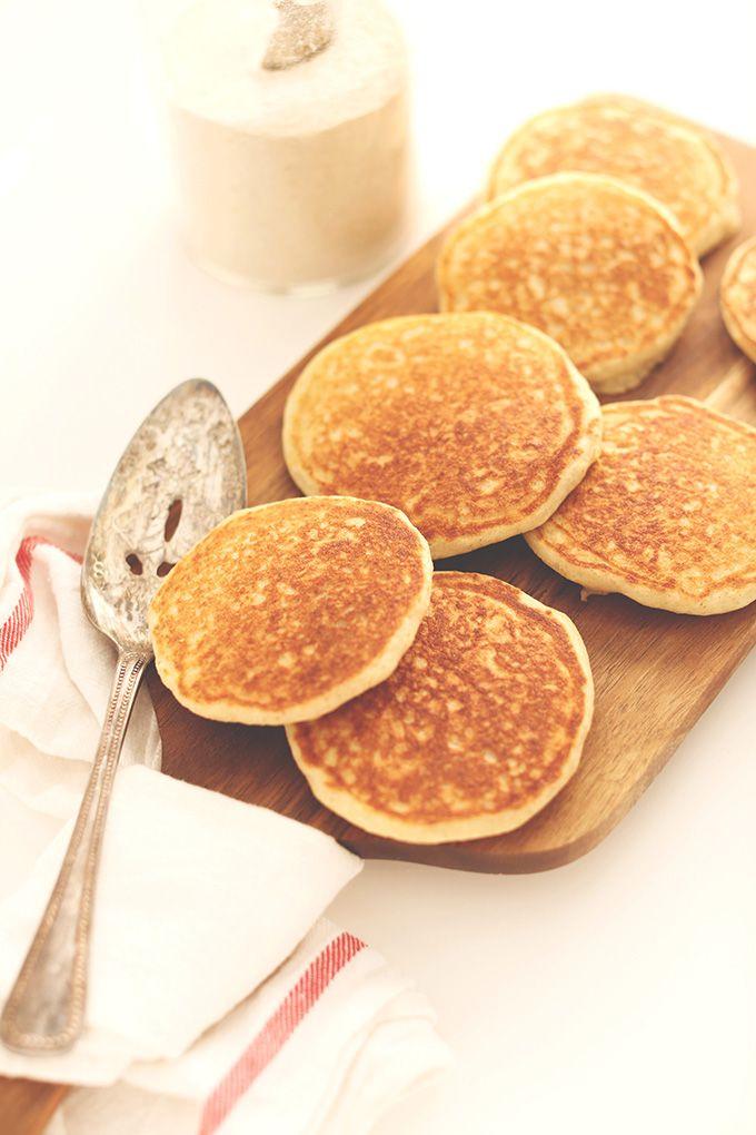 Gluten Free Pancakes! Minimalist Baker