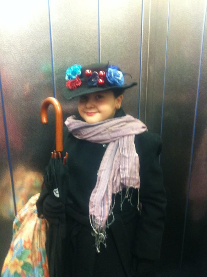 Mary Poppins World book day costume!  #costume #worldbookday