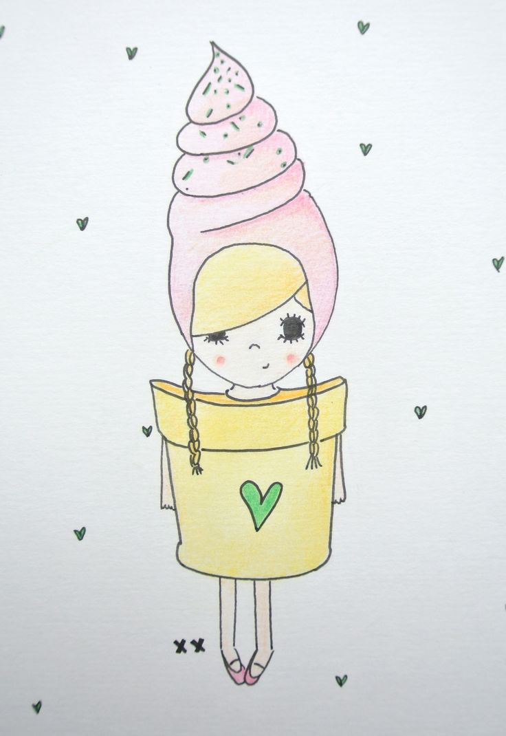 ice cream girl | ijs meisje | meisjeskamer | girls room www.kinderkamervintage.nl
