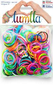 Elastice opace multicolore