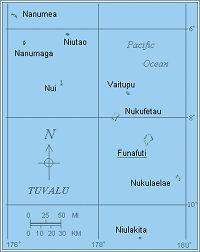 Oltre Fantastiche Idee Su Tuvalu Map Su Pinterest Isole Figi - Tuvalu map