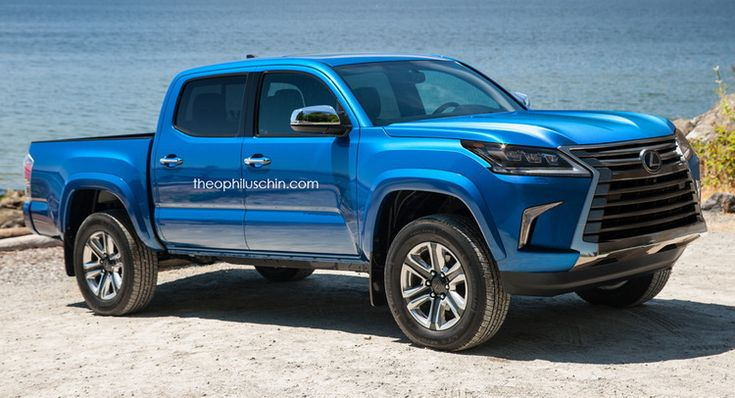 Here's Why A Lexus Truck Could Be A Great Idea